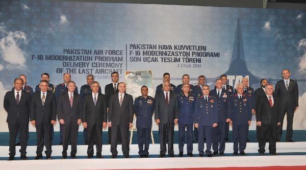 Taı Pakistan F-16'larını Modernize Etti