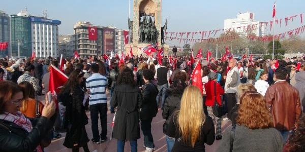 Taksim Meydani'nda Gerginlik