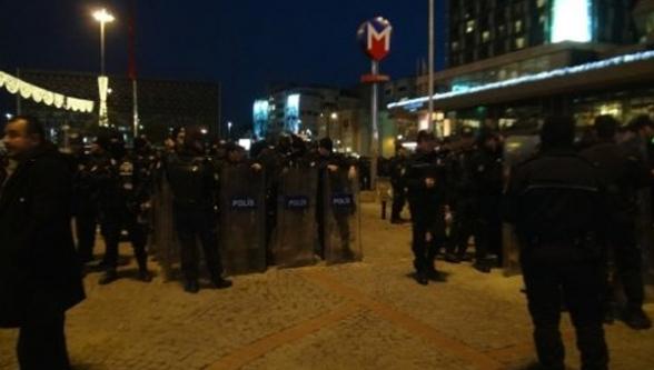 Taksim'de Eylemcilere Polis Müdahalesi!