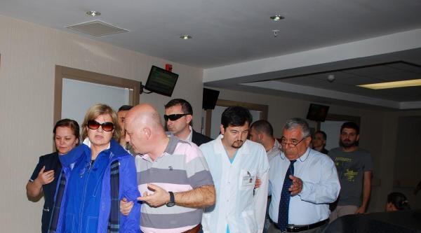 Tansu Çiller'den Hasta Ziyareti
