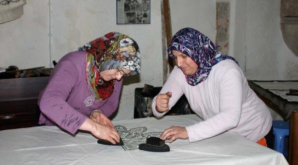 Tarihi Hamamda Taş Baski Üretimi