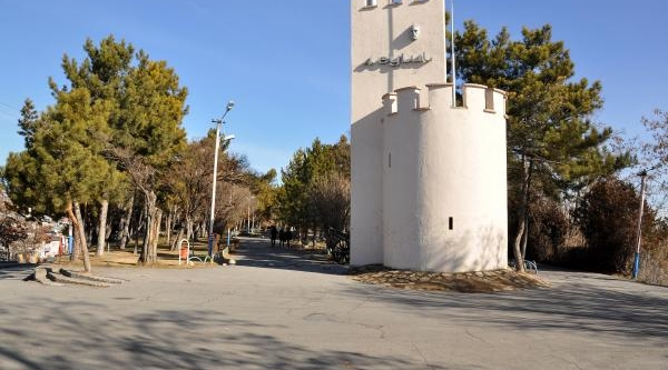 Tarihi Sivas Kalesi'ne Radarli Tarama
