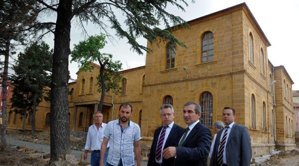 Tarihi Yozgat Lisesi Gün Yüzüne Çikiyor