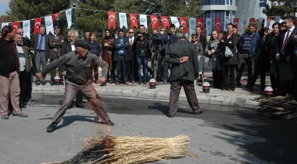 Tarım Fuarında Nevruz Kutlaması