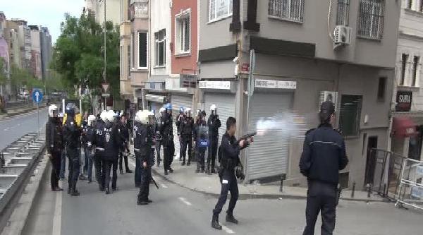Tarlabaşı'nda Polis Müdahalesi