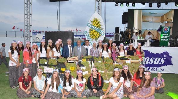 Tarsus 33'üncü Üzüm Ve Kültür Festivali Gerçekleştirildi