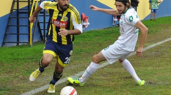 Tarsus Idmanyurdu-Kirklarelispor: 1-0