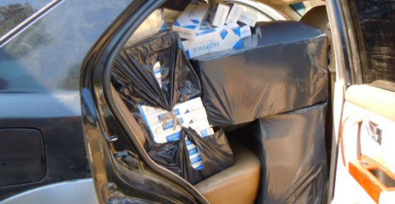Tarsus'ta 38 Bin 200 Paket Kaçak Sigara Ele Geçirildi