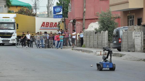 Tarsus'ta Bomba Paniği