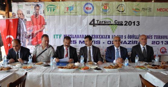 Tarsus'ta Uluslararası Tenis Turnuvası