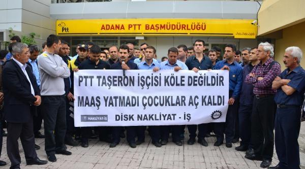 Taşeron Ptt Dağıtıcılarının Ücret İsyani