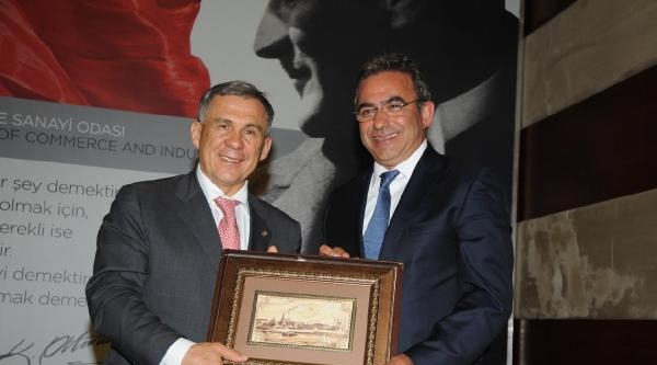 Tataristan Cumhurbaşkanı Minnihanov Antalya'da (2)
