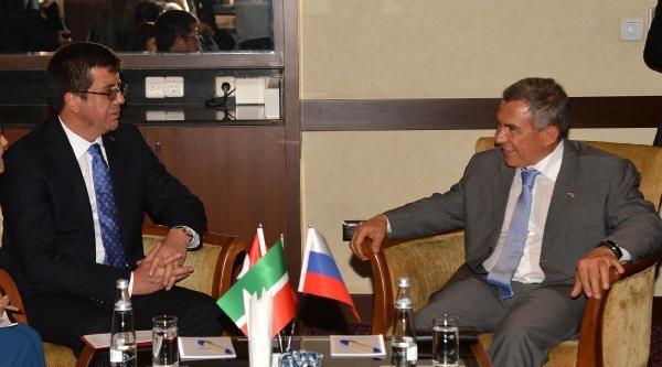 Tataristan Cumhurbaşkanı Minnihanov: Türkiye'de Yatırımcılarla İşbirliği Kurmak İstiyoruz (2)