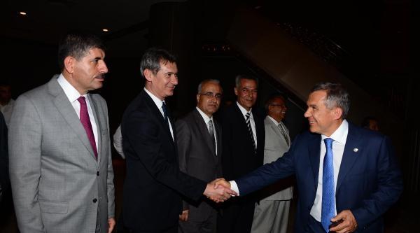 Tataristan Cumhurbaşkanı Rustam Minnihanov Adana'ya Geldi