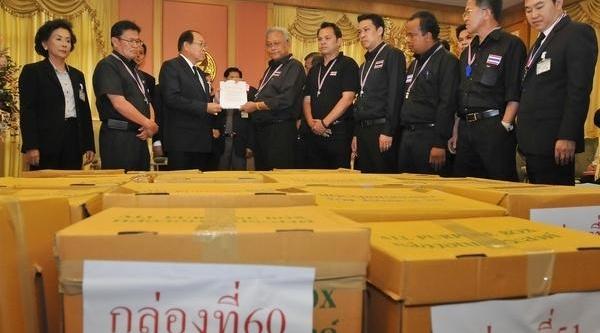 Tayland'da 310 Milletvekili Için 115 Bin Imzali Şikayet Dilekçesi