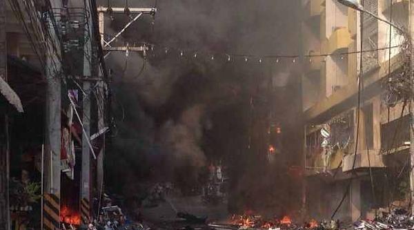 Tayland'da Bombalı Saldırılar