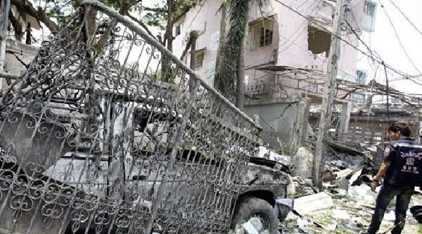 Tayland'da Tarihi Bomba Patladı 7 Ölü