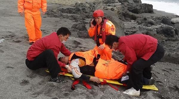 Tayvan'da Mucize: Okyanustan 60 Saat Sonra Kurtarildi