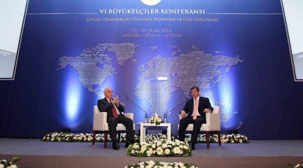 Tbmm Başkani Cemil Çiçek Ve Dişişleri Bakani Ahmet Davutoğlu Altinci Büyükelçiler Konferansi'na Katildi (Fotoğraflar)