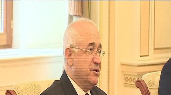 Tbmm Başkanı Çiçek, Aliyev'le Görüştü