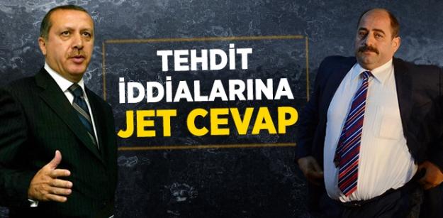 Tehdit iddialarına jet cevap!