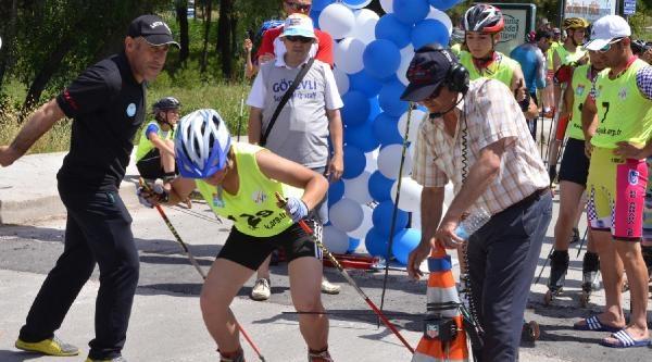Tekerlekli Kayak Türkiye Şampiyonasi Başladı