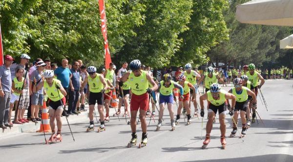 Tekerlekli Kayak Türkiye Şampiyonasi Sona Erdi