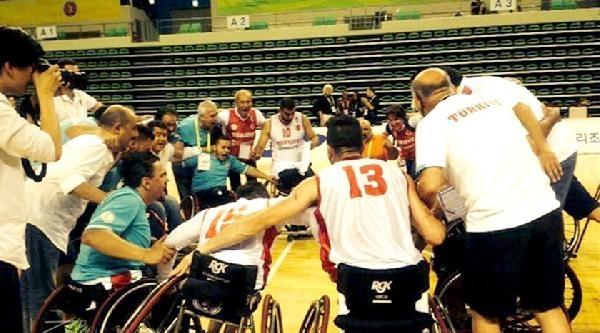 Tekerlekli Sandalye Basketbol Takımımız Dünya Üçüncüsü Oldu