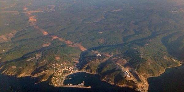 Tekin, Kuzey Marmara Otoyolu Yapiminin Hava Fotoğraflarini Basin Mensuplariyla Paylaşti