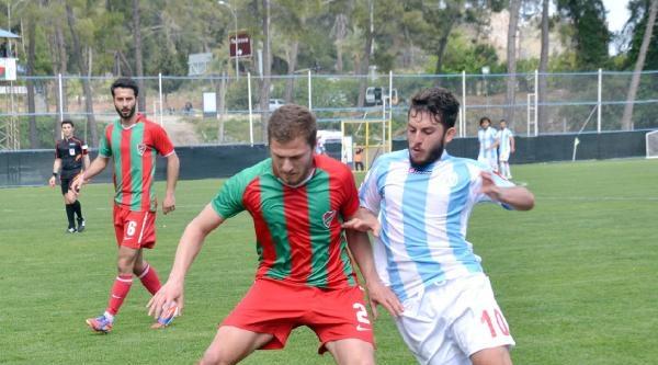 Tekirova Belediyespor - Beylerbeyispor: 1-1