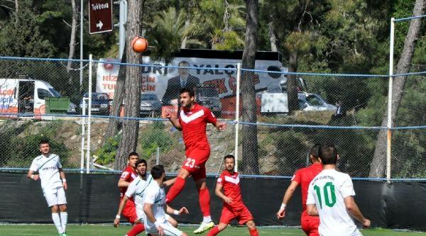 Tekirova Belediyespor - Yeşil Bursa: 1-1
