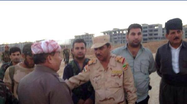 Telafer'deki Havaalanı Da Işid'in Kontrolüne Geçti, 'maliki'nin Aslanı' Lakaplı Komutan Peşmergelere Sığındı (ek Fotoğraf)