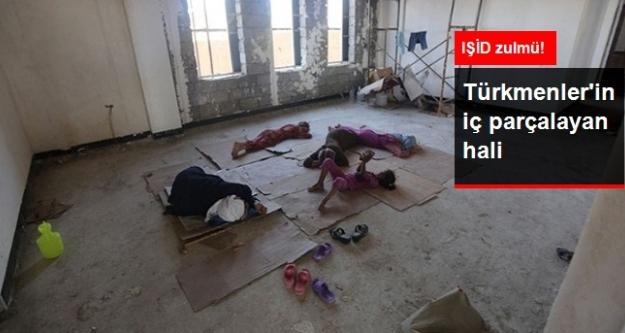 Telefar'den Kaçan Türkmenler Sincar'da İnşaatlarda Barınıyor