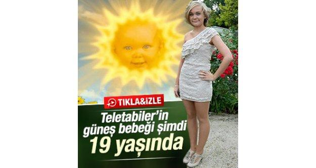 Teletabiler'in güneş bebeği Jess Smith şimdi 19 yaşında