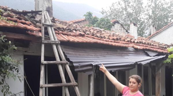 Televizyon Patladı, Evde Yangın Çikti