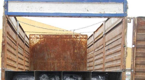 Tem'de Durdurulan Kamyonda 1 Ton 800 Kilo Esrar Ele Geçirildi