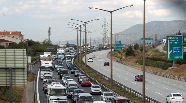 Tem'in Gebze-körfez Arası Ankara Yönü 81 Gün Süreyle Kapanacak