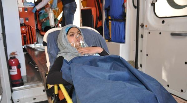 Temizlik Malzemesinden Zehirlenen Suriyeli Üç Kadın Hastanelik Oldu