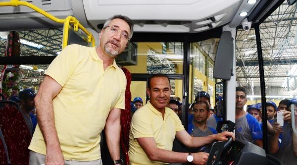 Temsa, 15 Bininci Otobüsü Üretti