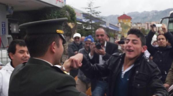 Temsili Askerlik Yapacak Engellilere Uğurlama Töreni