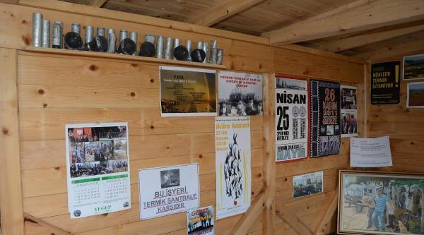 Termik Karşıtlarının Direniş Kulübesi Müze Oldu