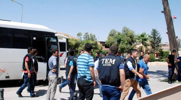 Terör Operasyonundaki 15 Şüpheli Serbest Bırakıldı