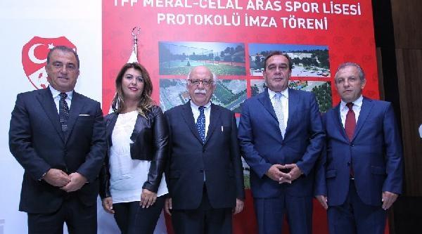 Tff-meb Meral-celal Aras Spor Lisesi'nin Protokolü İmzalandi