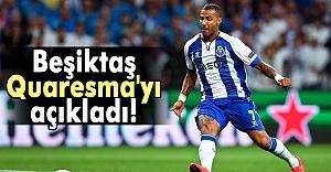 Beşiktaş'tan 'Quaresma' açıklaması