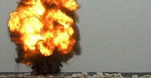 Bilecik'te korkutan patlama