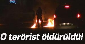 Cizre'de karakola saldıran terörist öldürüldü