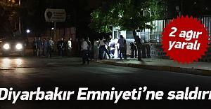 Diyarbakır Emniyeti'ne bombalı saldırı