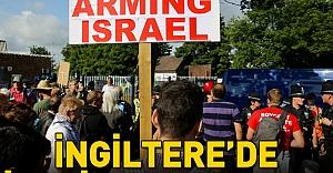 İngiltere'de 'İsrail ile silah ticareti' protesto edildi