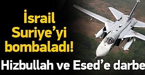 İsrail Suriye'yi...