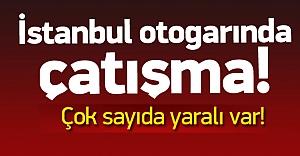 İstanbul#039;da otogarda çatışma